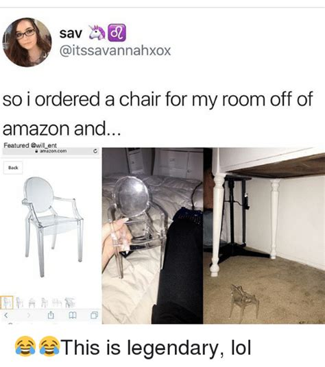 Chair Memes - sav so i ordered a chair for my room off of amazon and featured ent e amazoncom back this is