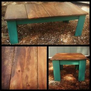 49 best images about for the home on pinterest drum With rustic teal coffee table