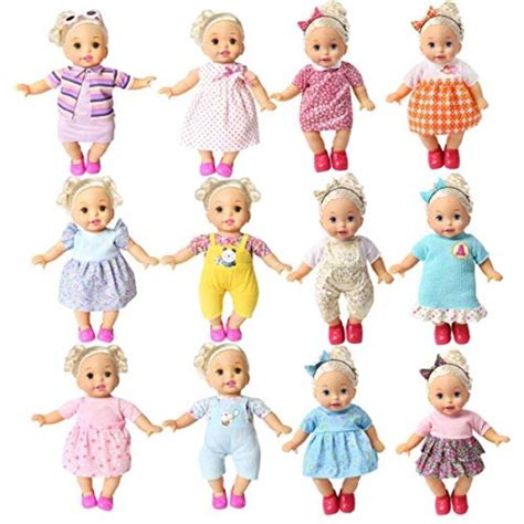 bobo clothes set of 12 for 12 14 16 inch alive lovely baby