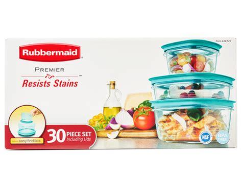 Rubbermaid Premier Food Storage 30 Piece Set