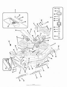 Cub Cadet Rzt 54 Deck Parts Diagram