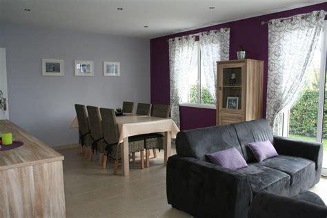 deco chambre gris et mauve deco violet et gris simple modle dcoration salon gris et