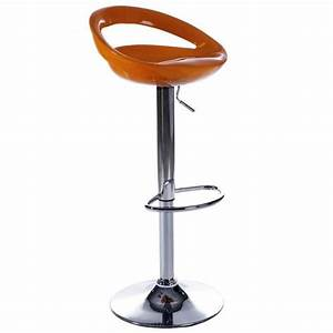 Tabouret De Bar Moderne : tabourets de bar moderne orange comet lot de 2 achat ~ Dailycaller-alerts.com Idées de Décoration