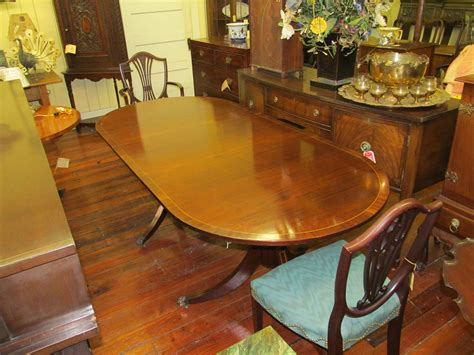cottage kitchen furniture inlaid mahogany cottage size dining table george c 2650