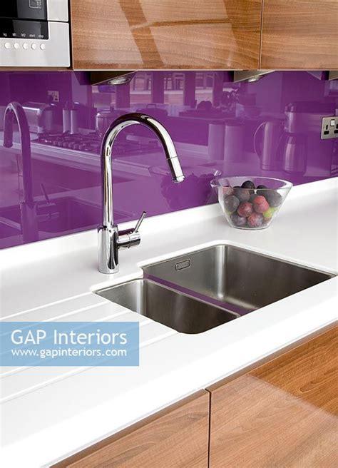 kitchen sinks trinidad and tobago gap interiors modern kitchen sink with purple splash