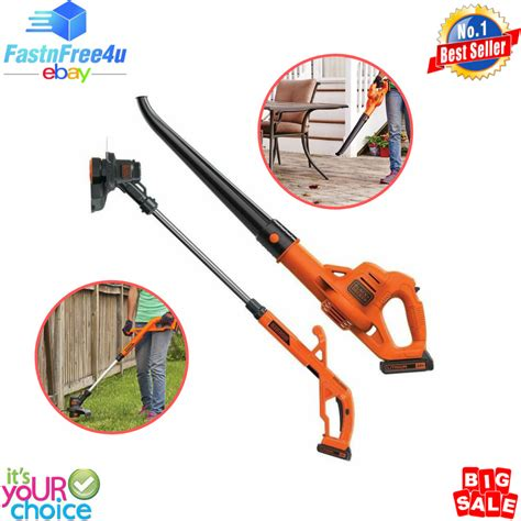 weed battery eater blower trimmer leaf powered cordless wacker combo string