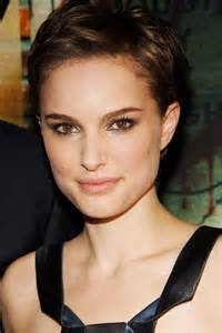 Natalie Portman Short Pixie Cut