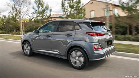 2019 Hyundai Kona Electric  Rear Threequarter Hd