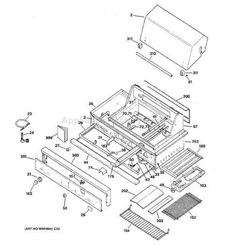 ge zgglcss models bbq parts canada