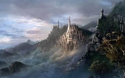 Backgrounds Desktop Surrealism Surrealist Castle Castles Fantasy