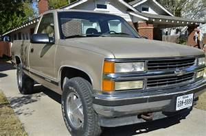 Chevrolet C  K Pickup 1500 Standard Cab Pickup 1992 Tan For