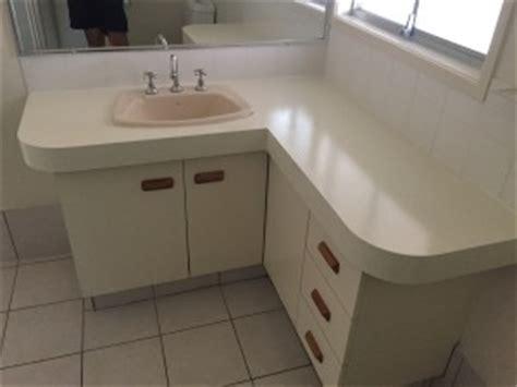 resurface bathroom vanity laminate paint