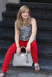 Michael Kors Rote Tasche : fashion blog k ln rote sommerhose und gemusterte bluse brinis fashion book ~ Frokenaadalensverden.com Haus und Dekorationen