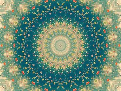 Psychedelic Trippy Indie Kaleidoscope Colorful Mandala Hippie