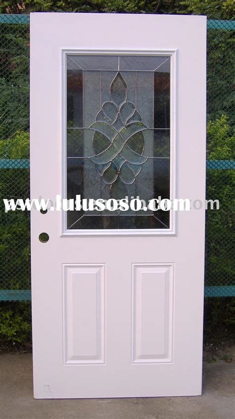half lite glass patio door with blinds for sale price