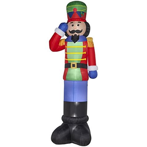 nutcracker soldier decorations outdoor christmas inflatables