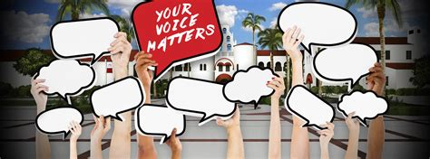 Your Voice your voice matters so we listen a s student