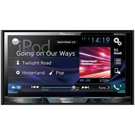 pioneer avh p1400dvd 2 din multimedia dvd receiver with 5 8 quot widescreen touch display and usb