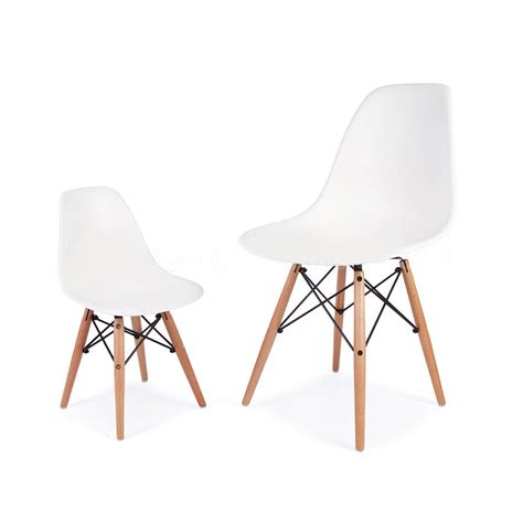 chaise design grise chair eames style by ciel notonthehighstreet com