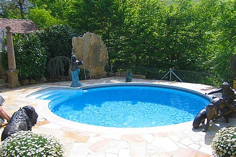 Small Yard, Small Pool  Spp Inground Pool Kit Blog