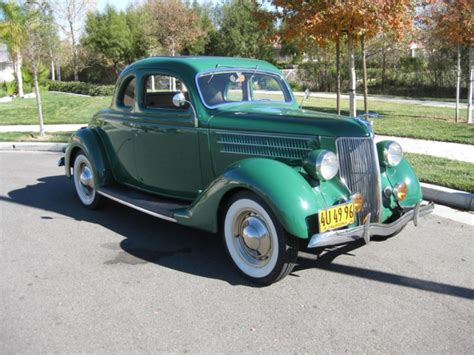 1936 Ford 5-window Coupe W/ Rumble Seat