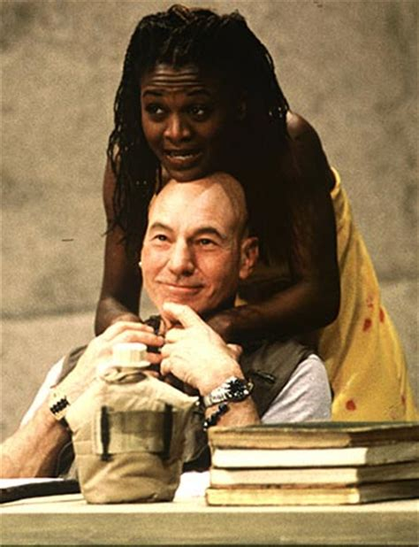 patrick stewart plays is othello black the moor s race background analysis