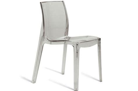 chaise transparente pas cher chaise transparente vienne design sur sofactory