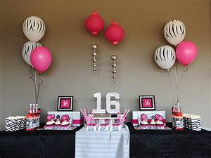 The Special And Sweet 16 Decorations The Latest Home