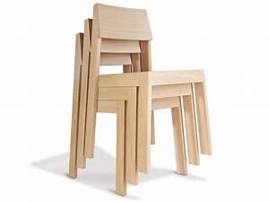 Chaise Chene Clair : chaise pilpil en ch ne bois et design made in france delavelle ~ Teatrodelosmanantiales.com Idées de Décoration