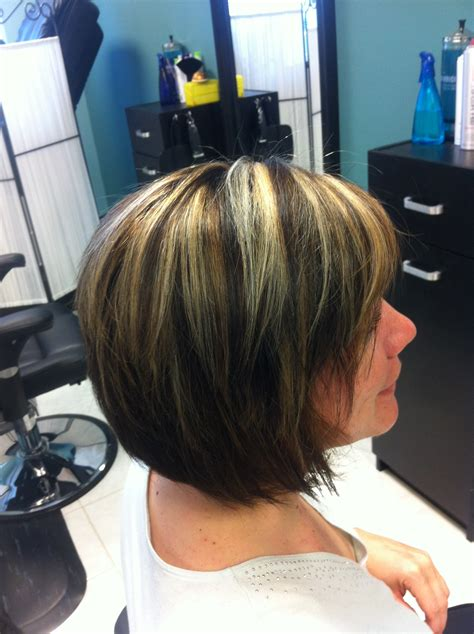 bold highlights  lowlights hairstyle ideas