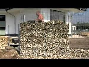 Gabionen Selber Machen : gabionen selber bauen gabionkaiser zeigt wie einfach es geht youtube ~ Whattoseeinmadrid.com Haus und Dekorationen