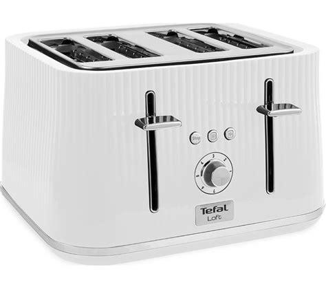 tefal toasters uk buy tefal loft tt60140 4 slice toaster white loft