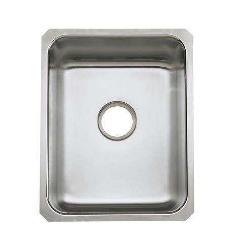 stainless single bowl kitchen sink elkay crosstown undermount stainless steel 44 in single 8225