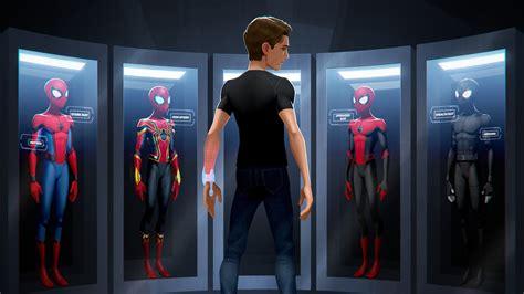 spider iron man  resolution hd