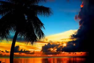 Guam Beaches Sunset