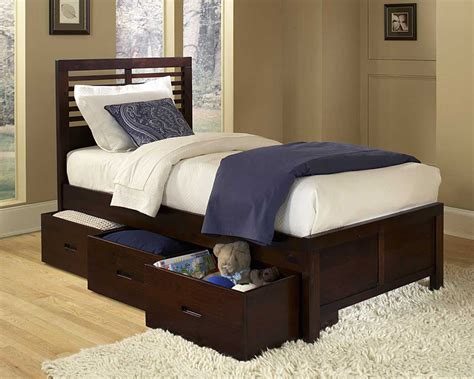 Paula Youth Twin Bed With Twin Trundle