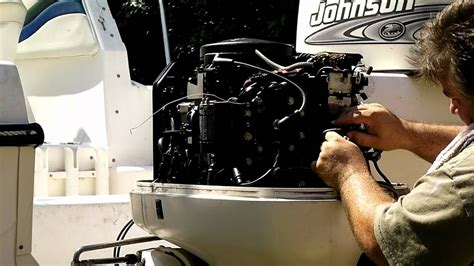 Johnson Outboard Wiring Diagram 50 Hp Pulse Pack by How To Replacing The Powerpack On A Johnson Evinrude
