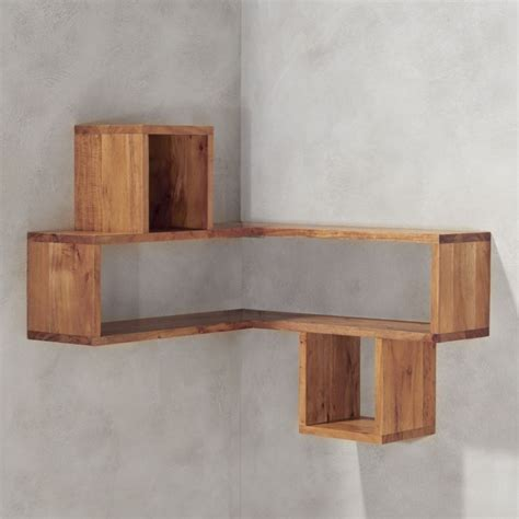 kitchen furniture for small kitchen corner block wood shelf cb2