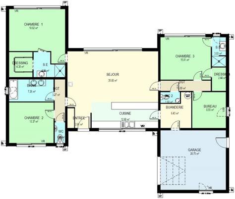 plan maison ossature bois plain pied gratuit plans maison plain pied gratuit 13 construction 86 fr gt plan maison ossature bois plain pied