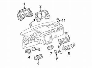 Genuine Chevrolet Avalanche Dash Control Unit 25936129