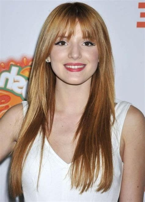 15 best collection of haircuts for long fine hair with bangs