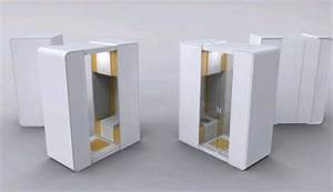 Modular portable bathroom for small space interior design for Portable bathrooms for small spaces