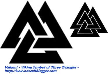 Valknut – Viking Symbol of Three Interlocking Triangles