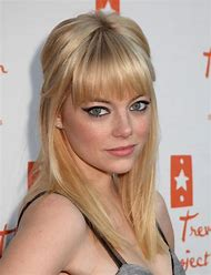 Emma Stone Blonde Hair