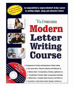 Modern letter writing course buy modern letter writing for Letter writing course online