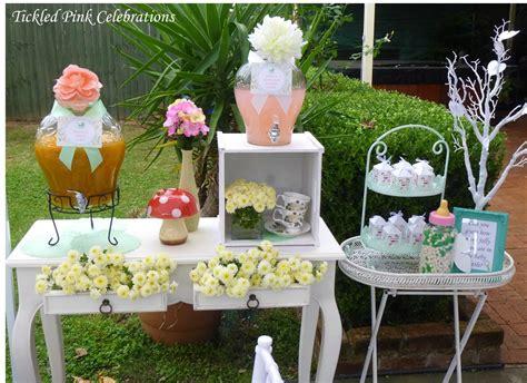 enchanted garden baby shower decoration ideas baby
