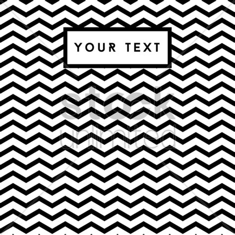 black  white zig zag background vector image