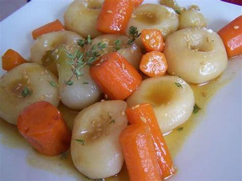 cuisiner des haricots blancs petits légumes printaniers glacés au miel senteurs et