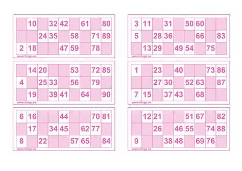 bingos para imprimir educaci 243 n primaria