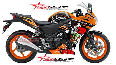Modifikasi Cbr 250 Repsol by Modif Striping Honda Cbr250r 150r Thailand Pengganti